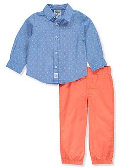 BUM Equipment Navy Short Sleeve Pajamas for Boys