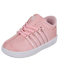 "K-Swiss Girls' ""Classic"" Sneakers (Toddler Sizes 6 – 10) - CookiesKids.com"