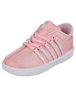 "K-Swiss Girls' ""Classic"" Sneakers (Toddler Sizes 10.5 – 12) - CookiesKids.com"