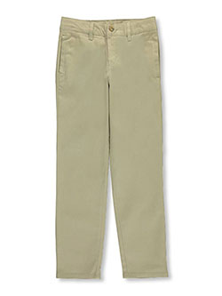 Big Girls' Original Skinny Leg Pants by Lee in khaki and navy