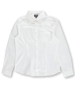 Uniforms Button-Down Blouse by Lee in White