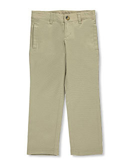 Little Girls' Original Skinny Leg Pants by Lee in khaki and navy