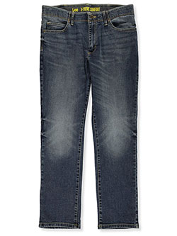 Husky Size Osmond Sport Series Straight Leg Slim Fit Jeans by Lee in Gray