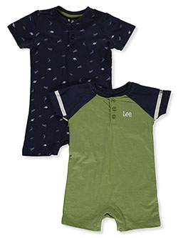 Boys' 2-Pack Rompers by Lee in Navy - Rompers