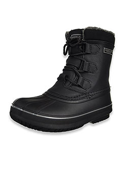 Boys' Cheshire Winter Boots by London Fog in Black