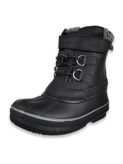 Boys' Oxford Winter Boots by London Fog in Black