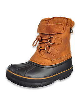 Boys' Oxford Winter Boots by London Fog in Cognac