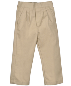 Genuine Big Boys' Pleated Twill Pants (Sizes 8 - 20) - CookiesKids.com