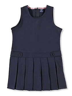 "Big Girls' ""Rhonda"" Jumper by U.S. Polo Assn. in Navy, School Uniforms"