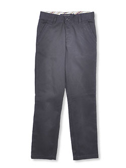 Big Girls' Twill Skinny Pants by U.S. Polo Assn. in Navy, School Uniforms