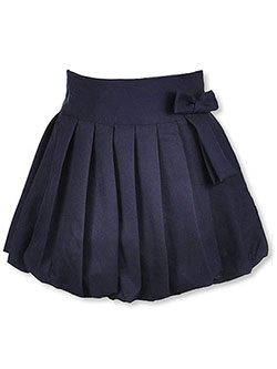 "U.S. Polo Assn. ""Bubble Pleat"" Scooter Skirt (Sizes 4 – 6X) - CookiesKids.com"
