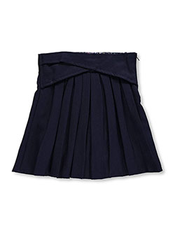 "U.S. Polo Assn. Little Girls' ""Crisscross Waist"" Scooter Skirt (Sizes 4 – 6X) - CookiesKids.com"