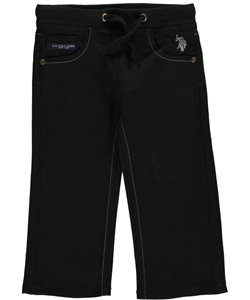 "U.S. Polo Assn. Baby Boys' ""Authentic Cursive"" Jeans - CookiesKids.com"