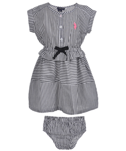 "Nautica Baby Girls' ""Fair Lady"" Dress - CookiesKids.com"