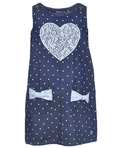 "Limited Too Little Girls' Toddler ""Open Heart"" Dress (Sizes 2T – 4T) - CookiesKids.com"
