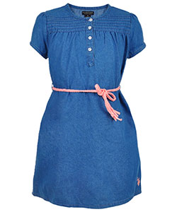 U.S. Polo Assn. Big Girls' Dress (Sizes 7 – 16) - CookiesKids.com