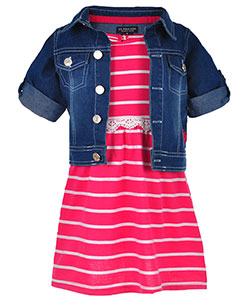 U.S. Polo Assn. Little Girls' Toddler 2-Piece Outfit (Sizes 2T – 4T) - CookiesKids.com
