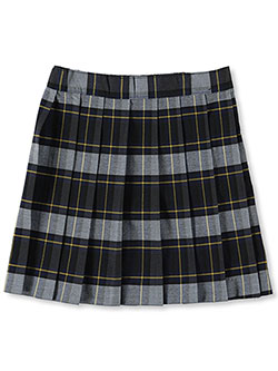 "Little Girls' ""Bella"" Plaid Skirt by French Toast in plaid #57 and plaid #91 - $15.99"
