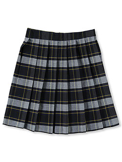 Big Girls' Plaid Skirt by French Toast in plaid #57, plaid #83 and plaid #91, School Uniforms