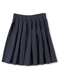 """Jana"" Pleated Skirt by French Toast in Navy, School Uniforms"