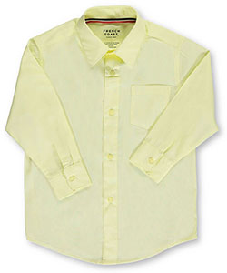 L/S Button-Down Shirt by French Toast in Yellow