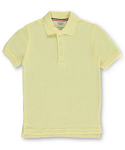 French Toast Unisex S/S Pique Polo (Adult Sizes S – XL) - CookiesKids.com