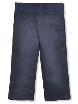 Wrinkle No More Relaxed Fit Pants by French Toast in black, gray, green, khaki and navy