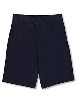 French Toast Unisex Flat Front Unisex Twill Short with Adjustable Waist (Sizes 4 - 7) - CookiesKids.com