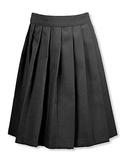 French Toast Big Girls' Pleated Skirt (Sizes 7 - 16) - CookiesKids.com