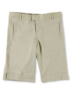 Below the Knee Bermuda Short by French Toast in Khaki, School Uniforms