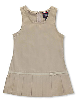 Jumper by French Toast in khaki and navy