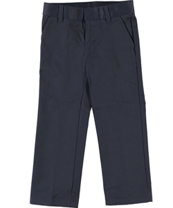 French Toast Little Boys' Flat Front Slim Fit Double Knee Pants (Sizes 4 – 7) - CookiesKids.com