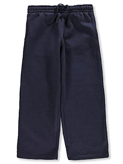 Unisex Fleece Sweatpants by French Toast in Navy