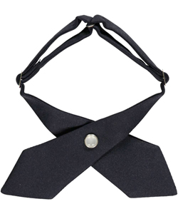 Crisscross Necktie by French Toast in Navy - $3.99