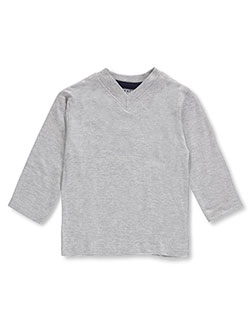 French Toast Baby Boys' L/S V-Neck T-Shirt - CookiesKids.com
