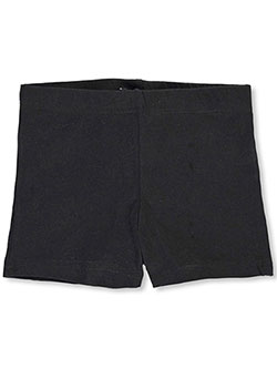 Little Girls' Bike Shorts by French Toast in black, khaki and navy