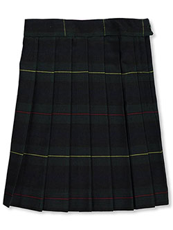 "Little Girls' ""Gertrude"" Plaid Skirt by French Toast in Plaid #83"