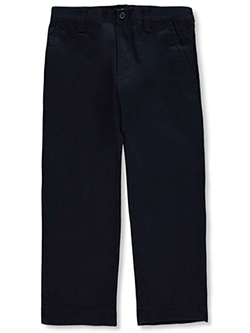 Wrinkle No More Relaxed Fit Pants by French Toast in gray, khaki and navy