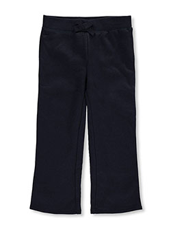 Straight Leg Fleece Sweatpants by French Toast in Navy