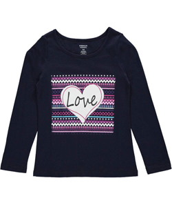 "French Toast Little Girls' ""Ikat Love"" Top (Sizes 4 – 6X) - CookiesKids.com"