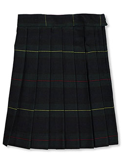 "French Toast Big Girls' ""Gertrude"" Plaid Skirt (Size 20) - CookiesKids.com"