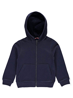 Little Boys' Toddler Fleece Hoodie by French Toast in Navy - $13.99
