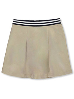 French Toast Girls Bow Front Pleated Shorts