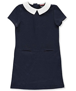 Little Girls' Ponte Jumper by French Toast in Navy - Jumpers