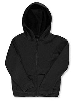 Big Girls' Fleece Hoodie by French Toast in black, gray and navy - $24.00