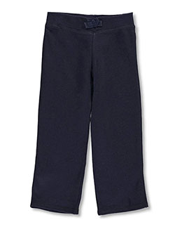 Toddler Straight Leg Fleece Sweatpants by French Toast in Navy