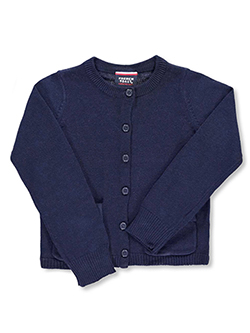 Big Girls' Cardigan by French Toast in Navy - $28.00