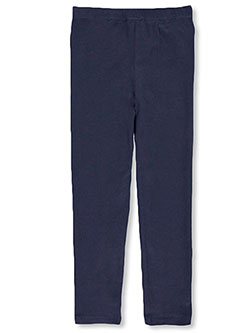 Girls' Basic Stretch Leggings by French Toast in Navy