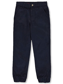 Husky Boys' Stretch Twill Joggers by French Toast in Navy