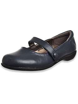 "Girls' ""Ashley"" Mary Jane Shoes by French Toast in Navy"